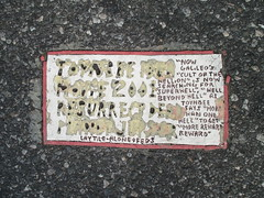 Twin Toynbee Tiles 42nd Street & 8th Ave NYC 6102 (Brechtbug) Tags: street 2001 nyc get classic by movie tile dead one idea for is alone kubrick south hell twin severino made more tiles than half cult planet beyond jupiter melted now says avenue reward 8th toynbee named verna lay 42nd searching sevy hellion possibly feds 2014 reclusive galileos resurrect philadelphian superhell 08192014