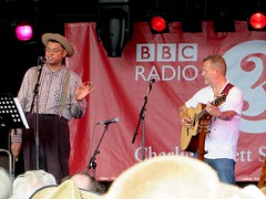 Martin Simpson and Dom Flemons at WOMAD 2014 (Andy Worthington) Tags: music folk festivals stages wiltshire worldmusic folkmusic womadfestival womad charltonpark musicfestivals andyworthington martinsimpson donflemons