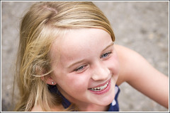 Niamh (Maw*Maw) Tags: blue smile canon hair happy eos eyes 7d laugh blonde giggle giggles