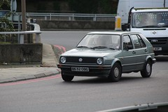 VW Golf CL (kenjonbro) Tags: england vw volkswagen grey blackheath 1986 a2 cl a102 se3 blackwalltunnel shootershillroad worldcars kenjonbro canoneos5dmkiii delacourtroad suninthesandsroundabout canonzoomlensef9030014556 c532obg