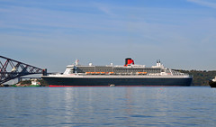 Queen Mary 2 ,Anchored in Firth of Forth,Scotland (murraymcbey) Tags: river scotland forth queenmary2 cunard firth anchored