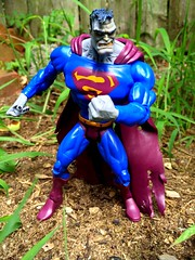 Bizarro (chevy2who) Tags: comics toy dc action superman figure lex figures bizarro villian luthor bizarrovulcan