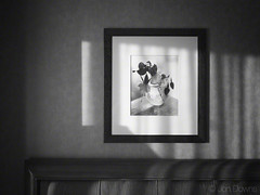 to all the hotel rooms I have known (Jon Downs) Tags: light shadow white black art monochrome wall canon downs photography mono hotel la photo losangeles los bed jon artist photographer image angeles picture pic hills frame headboard beverlyhills beverly g11 jondowns