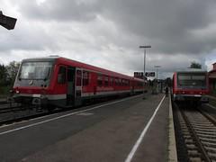 BR 628.2 in Walldürn (marcelmehlhorn) Tags: 628 db walldürn baureihe 6282 modernisiert br628 westfrankenbahn madonnenland madonnenländchenbahn