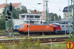 145-CL001 Arcelor Mittal + 242 001-6 (EKO 42) EKO Trans - Cottbus 01.09.14 (Paul David Smith (Widnes Road)) Tags: lud ludmilla br242 class242 dbagclass242