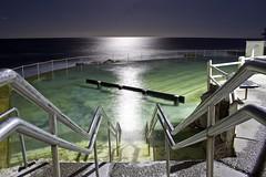 Bronte Pool (imagesofatourist) Tags: ocean longexposure travel beach night canon sydney australia nsw bronte 500d oceanpool brontebeach brontesydney lazyshutter