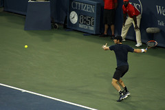 Andy Murray Forehand (BenG94) Tags: greatbritain ohio andy scotland cincinnati tennis andymurray 2014 forehand westernsouthernopen