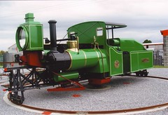 4 LISTOWEL 180903 (David Beardmore) Tags: monorail lartigue diesellocomotive steamoutline alankeef listowelballybunionrailway
