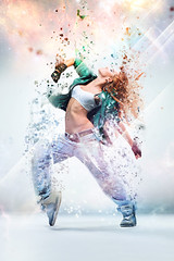 Blur Dispersion (lobomx) Tags: woman color girl fashion vertical modern female pose studio one moving dance cool jump adult exercise dancing action performance young posing style funky dancer human agility acrobat balance hiphop breakdance fitness performer stretching breakdancer aerobics active gymnastic flexibility russianfederation exercising
