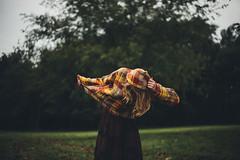 4.0/365 (Bailey W.) Tags: autumn portrait fall girl self project dark day dusk blonde drug rug baja 365