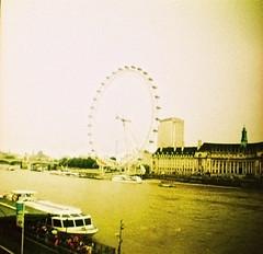(daria menshchikova) Tags: uk travel england london film 35mm lomo xpro lomography cross crossprocess grain slide mini diana 200 process 135mm dianamini