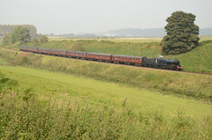 Steam On The Somerset & Dorset (Simon Crowther Photography) Tags: google nikon flickr br maroon sd british fowler svr severnvalleyrailway britishrailways 7f mk1 prussianblue sdjr no88 somersetdorset eardington d7000 brmk1 eardingtonbank