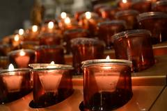 Velas (alvaro.blanes) Tags: new york nyc church st cathedral patrick iglesia