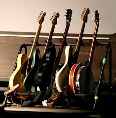 Public Service Broadcasting Guitar Rack