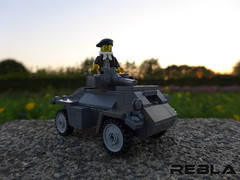Humber Armoured Car (Rebla) Tags: world 2 car war lego wwii ww2 humber armoured