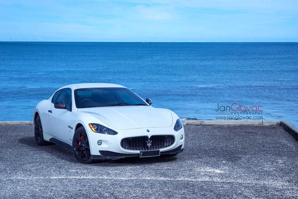 Maserati GranTurismo S (Jan Glovac Photography) Tags: Beach Water Car  Italian Australia Perth