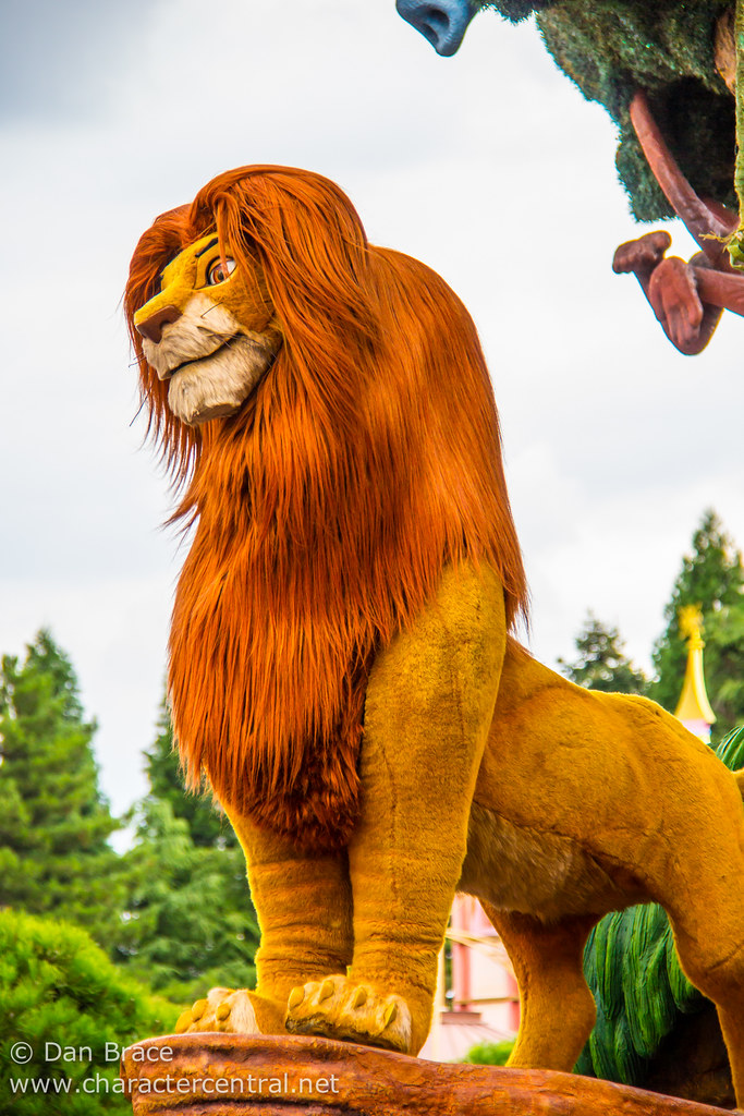 Simba At Disney Character Central