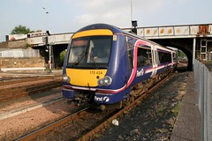 170434 PERTH 080607 (David Beardmore) Tags: scotrail bombardier dmu firstscotrail dieselmultipleunit class170 networkerturbo 170434
