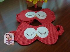 Zoiudinha...com olhos fechados (Ma Ma Marie Artcountry) Tags: coruja mascara corujinha máscaraparadormir