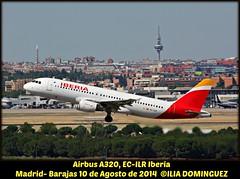 idna125-EC-ILR (ribot85) Tags: madrid airplane aircraft airbus mad airlines aeropuerto avion a320 iberia aviones barajas lemd ecilr