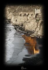 """51/52 - """"Trocitos de paraso"""" (Playa de La Fajana, Los Realejos) (domiJPG) Tags: sea beach landscape la mar los waves playa paisaje tenerife olas realejos fajana"""