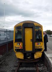 Inverness (DarloRich2009) Tags: scotland highlands first scotrail inverness dmu firstscotrail dieselmultipleunit firstgroup class158 15717 invernessrailwaystation invernessstation firstgroupplc rilenahalba