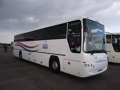 YO53ZNB (Suffolk Norse) 21-09-2014 Duxford Showbus.1 (routemaster2217) Tags: bus coach transport duxford imperialwarmuseum iwm countycouncil dennisjavelin communitytransport plaxtonprima suffolknorse showbus2014