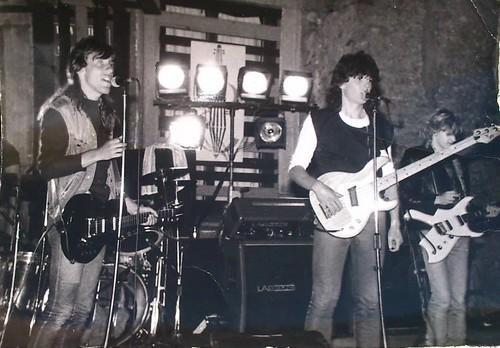 koncert AZYL P. - szydłowiecki zamek, maj 1985r.