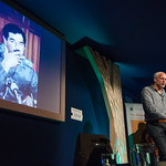 Justin Marozzi on stage at the Edinburgh International Book Festival