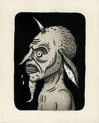 """""""Ire"""" (Crispy Copper) Tags: art ink portland drawings pdx fecalface"""