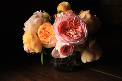 IMG_6178 (margarita_irbis) Tags: pink flowers roses stilllife orange flower beautiful rose bright bouquet