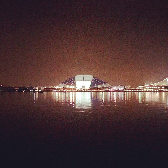 Weekly 10km to the SEA Games closing ceremony 🏃  #nightrun #nationalstadium #seagames2015
