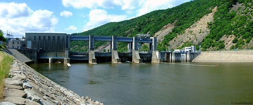 Vodní přehrada Vrané nad Vltavou (Staustufe Wran an der Moldau)