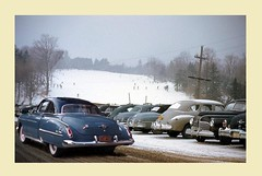 Ski (gpholtz) Tags: diorama miniatures 118 diecast 1950 oldsmobile 88