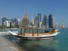 Dhow (Daniel Brennwald) Tags: doha katar qatar dhow