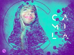 Camila en Flor (elbiendepinga) Tags: camila flor bellalasonce flower fotocomposicion photoshop dobleexposure dobleexposicion duotono duotone diseñografico graphicdesign typography tipografia