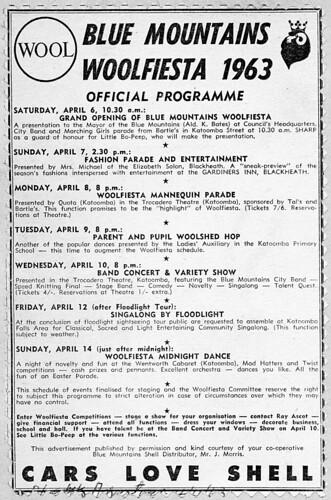 Woolfiesta Programme