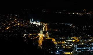 Klosterneuburg at night