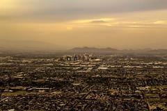 Phoenix (graceengelhardt) Tags: buildings city cactus dusk clouds sunset phoenix