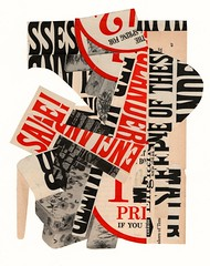 """""""Britesque"""" (Jim Ford art) Tags: jimford collage art sketchbook typographic abstract"""