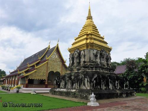 Wat Chiang Man Stupa, Chiang Mai