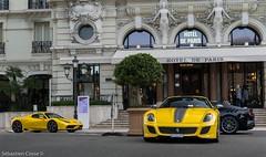 Ferrari's (Sebastien Cosse) Tags: ferrari 599 gto f12 tdf 458 speciale aperta 599gto f12tdf 458speciale 458specialea monaco 2017