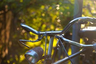 Fahrrad im Bokeh/Bicycle in Bokeh