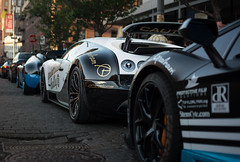 Move Aventador, You're In The Way (akahn177) Tags: nyc blue roof white black rally convertible 11 carbon unicorn bugatti blanc rare matte pur goldrush meatpacking combo veyron vitesse supersport fibre gr6 aventador