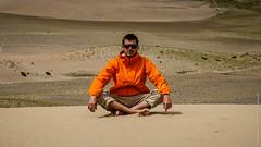 Я в тибетских песках