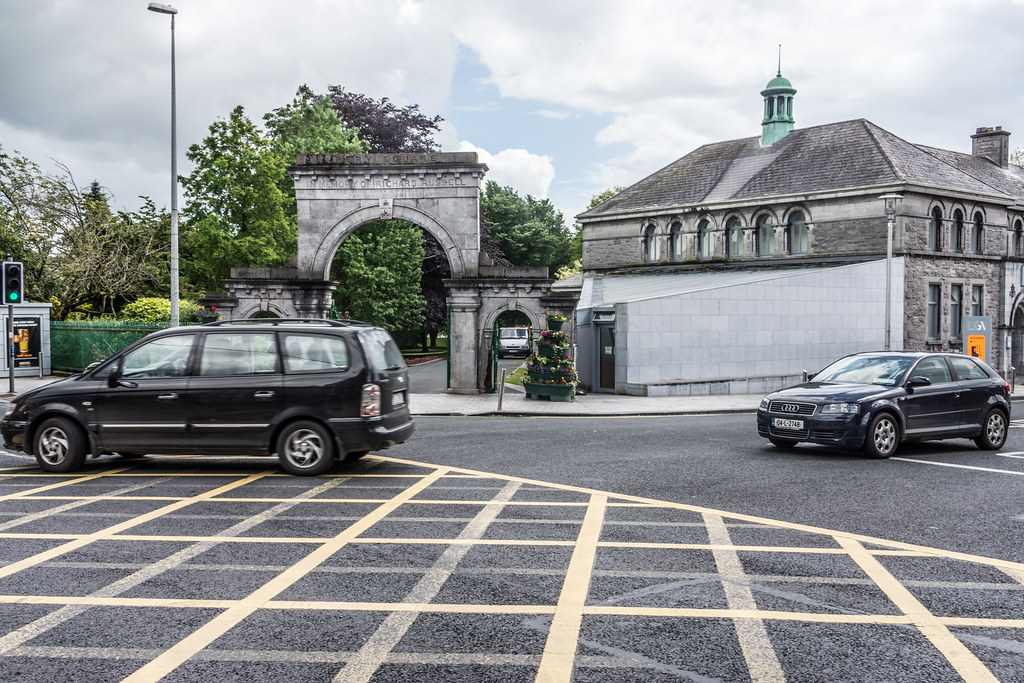 ENTRANCE TO PEOPLE'S PARK IN LIMERICK