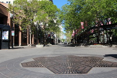 Olympic plaza and theatre district Calgary (davebloggs007) Tags: plaza calgary june olympic 2014