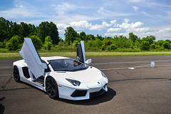 """""""Learn how to Fly""""- Lamborghini Aventador (Give It a Rev Photography) Tags: foo fighters lamborghini cf charities aventador"""