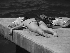 Poletje 2014 (RenatoD) Tags: sea summer ass girl canon meer sommer butt slovenia piran arsch swimwear popo madchen poletje sx50hs