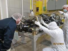 EXIS Installed on GOES-R Satellite (NOAASatellites) Tags: bestof satellite nasa nextgeneration instruments noaa geostationary lockheedmartin spaceweather exis lasp weathersatellite laboratoryforatmosphericandspacephysics goesr nesdis extremeultravioletandxrayirradiancesensors spacesegment noaasatellites noaasatelliteandinformationservice